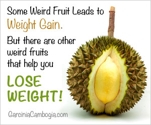 Some weird fruit can help you lose weight.